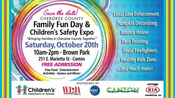 Family Fun Day Children S Safety Expo Cherokee County Chamber Of